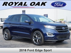 Used 2016 Ford Edge Sport SUV in Royal Oak, MI