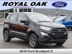 Used 2018 Ford EcoSport S SUV in Royal Oak, MI