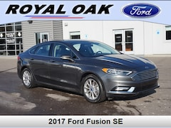 Used 2017 Ford Fusion SE Sedan in Royal Oak, MI