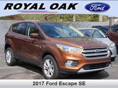 Used 2017 Ford Escape SE SUV in Royal Oak, MI