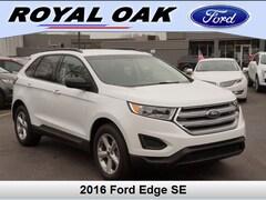 Used 2016 Ford Edge SE SUV in Royal Oak, MI