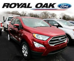 New 2019 Ford EcoSport SE Crossover in Royal Oak, MI