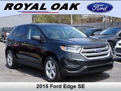 Used 2015 Ford Edge SE SUV in Royal Oak, MI