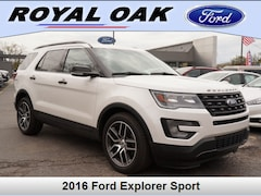 Used 2016 Ford Explorer Sport SUV in Royal Oak, MI