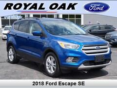 Used 2018 Ford Escape SE SUV in Royal Oak, MI