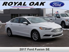 Used 2017 Ford Fusion SE Sedan in Royal Oak, MI