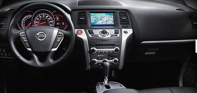 2013 Nissan Murano Interior Black Dashboard