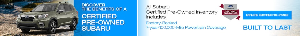 Subaru Certified Pre-Owned Program