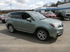 Used 2017 Subaru Forester 2.5i Touring SUV JF2SJATCXHH413138 in Cortland, NY