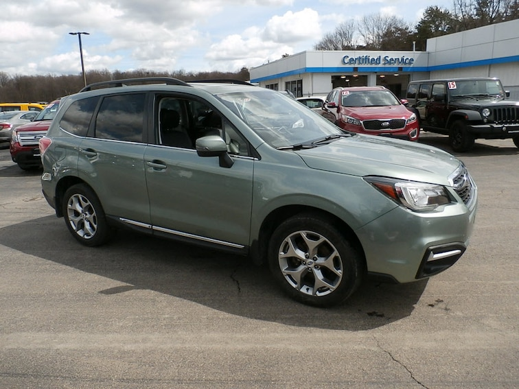 Pre-Owned 2017 Subaru Forester 2.5i Touring SUV in Cortland, NY