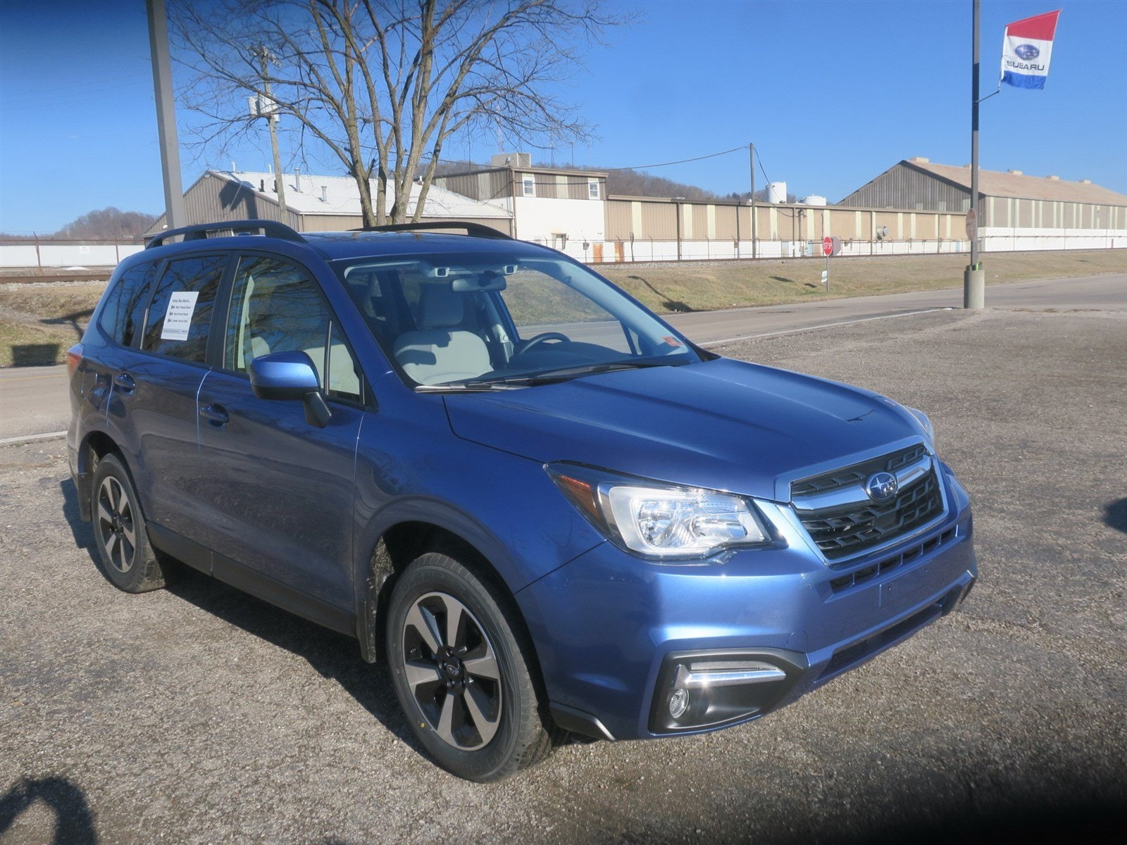 2018 Subaru Forester 2.5i Premium with Eyesight + All Weather Package + Power Rear Gate + Starlink SUV JF2SJAGC0JH518240