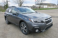 New 2018 Subaru Outback 2.5i Limited with EyeSight, Navigation, High Beam Assist, Reverse Auto Braking, LED Headlights, Steering Responsive Headlights, and Starlink SUV 4S4BSANC8J3344666 in Charleston, WV