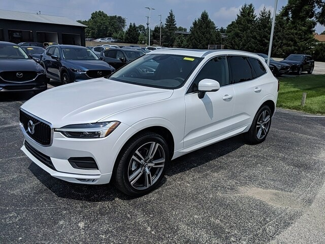 Featured new 2021 Volvo XC60 T5 Momentum SUV for sale in Bloomington, IN