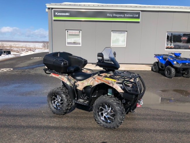 2018 KAWASAKI Brute Force 750 4X4i EPS  Camo W/ Accessories! $51.11/Week OAC!!