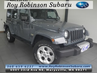 Used 2015 Jeep Wrangler Unlimited Sahara 4x4 SUV T18137A in Marysville, WA