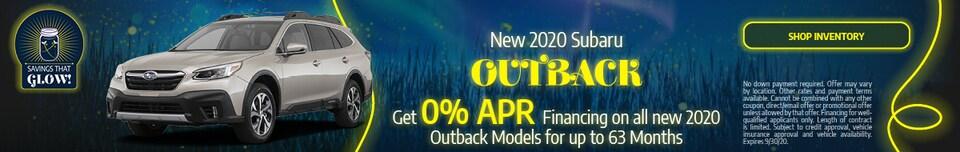 September 2020 Outback Special