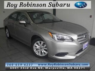 Used 2017 Subaru Legacy 2.5i Premium Sedan 390512B in Marysville, WA