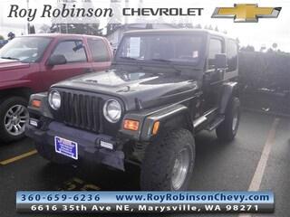Used 1998 Jeep Wrangler Sahara SUV T382249A in Marysville, WA