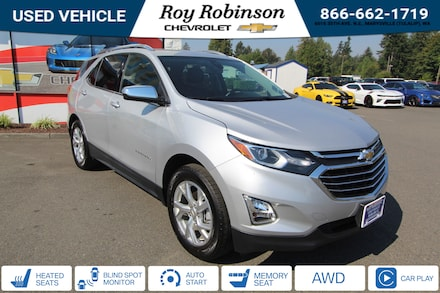Featured Used 2020 Chevrolet Equinox Premier w/1LZ SUV TP19271 for sale in Marysville, WA