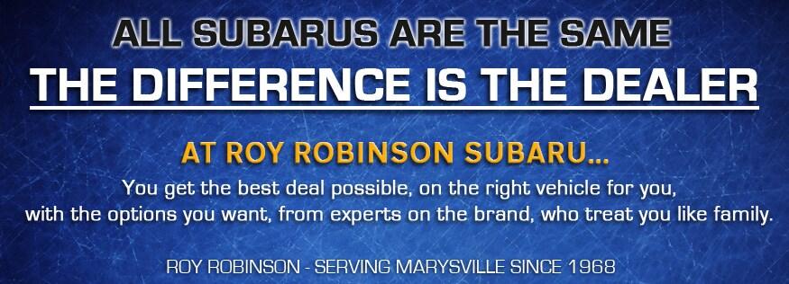 Roy Robinson Subaru >> Roy Robinson Subaru In Marysville Wa