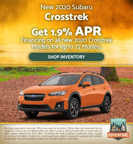 July 2020 Crosstrek Special