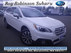 Certified Pre-Owned 2017 Subaru Outback 2.5i Limited with SUV 391707A in Marysville, WA