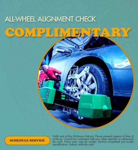 All-Wheel Alignment Check