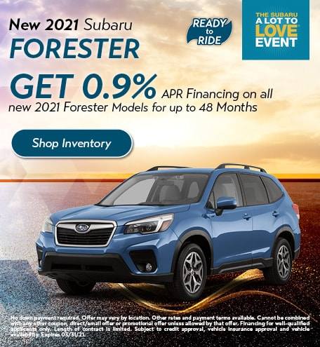 February 2021 Forester Special