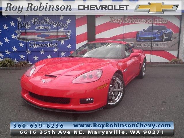 Featured Used 2012 Chevrolet Corvette Grand Sport Coupe P18368 for sale in Marysville, WA