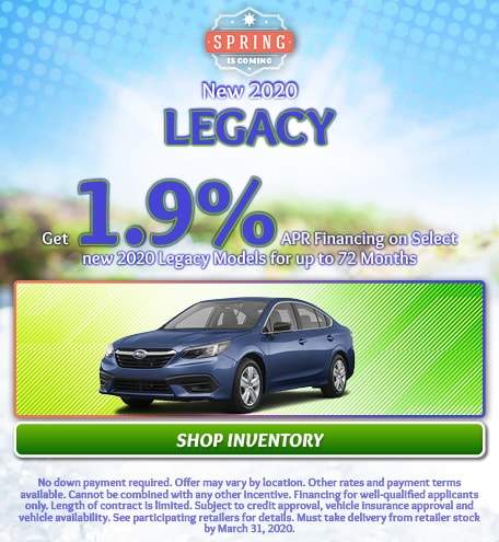 March 2020 Legacy Special