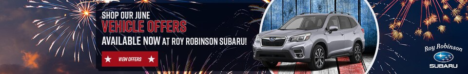 July 2019 Vehicle Specials