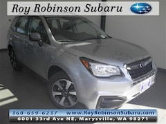 Certified Pre-Owned 2018 Subaru Forester 2.5i SUV S382942 in Marysville, WA