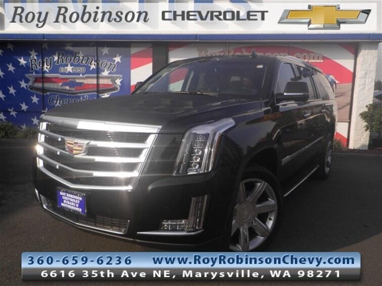 Used 2017 CADILLAC Escalade ESV Luxury SUV TP18220 in Marysville, WA