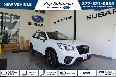 Featured New 2021 Subaru Forester Sport Sport Utility for sale in Marysville, WA