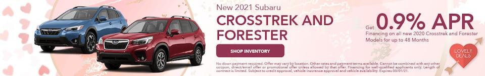 February 2021 Crosstrek and Forester Special