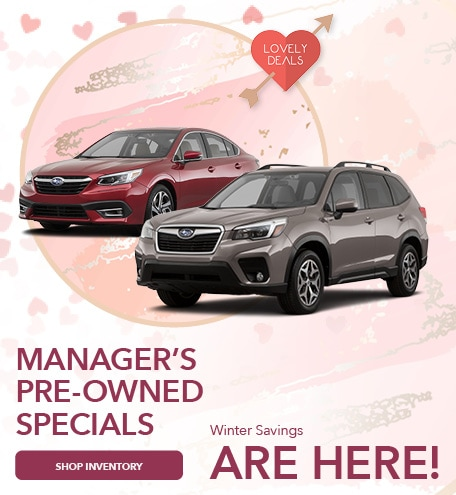 February 2021 Manager's Pre-Owned Special