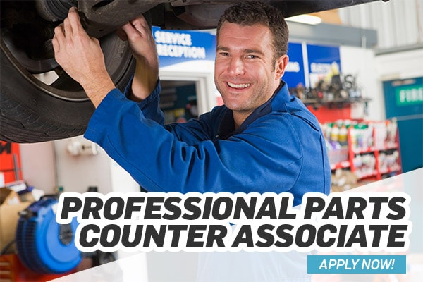 Professional Parts Counter Associate