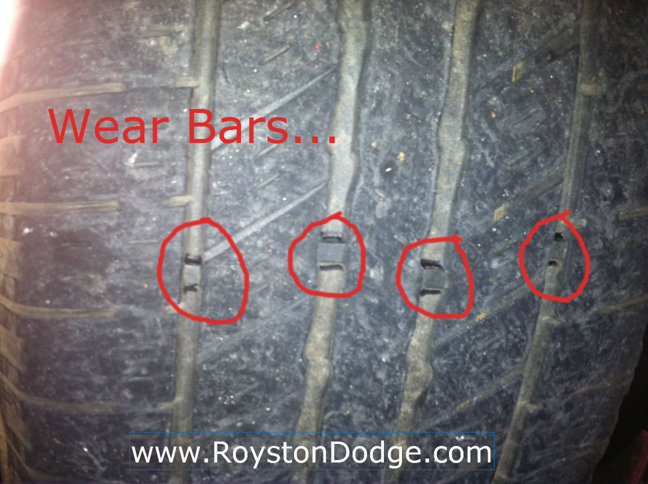 Royston Chrysler Dodge Jeep  Tire Treads Keeping Your Vehicle Safe