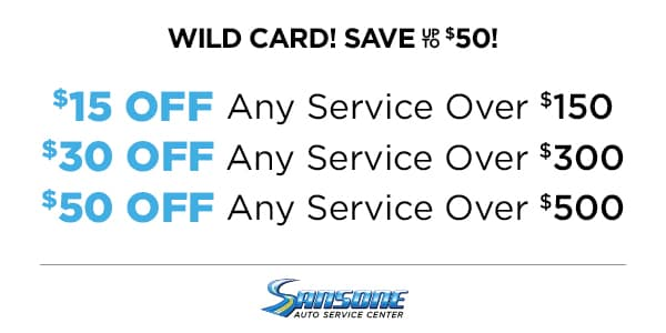 WILD CARD! SAVE UP TO $50!