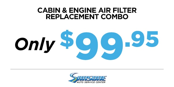 CABIN & ENGINE AIR FILTER