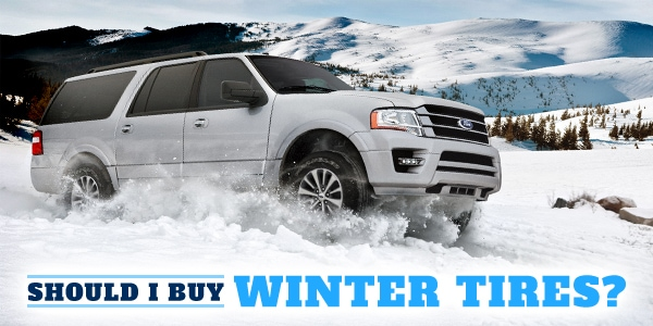 Buying Winter Snow Tires - Ford in New Lisbon, WI