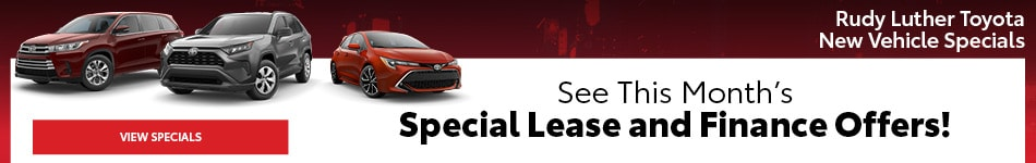 Rudy Luther Toyota New Vehicle Specials