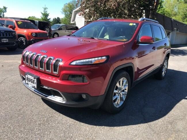 2015 Jeep Cherokee Limited 4x4 SUV