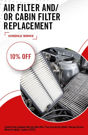 Air Filter Cabin  Filter Replacement