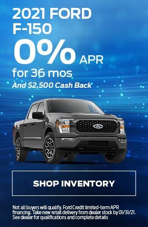2021 Ford F-150 - 0% APR