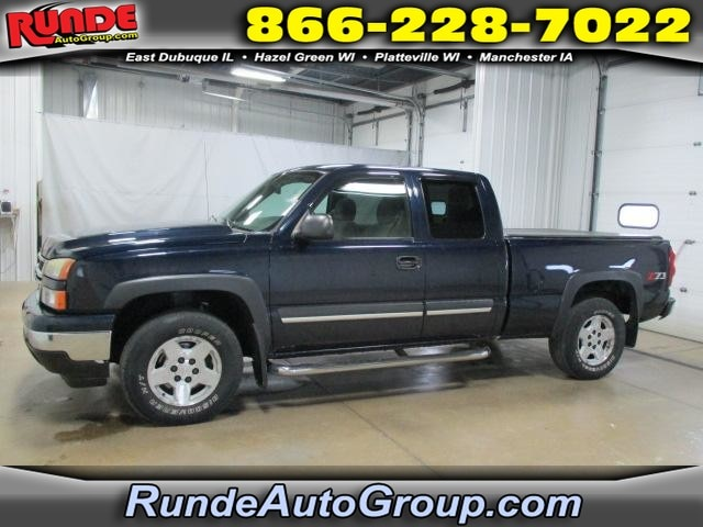 2007 Chevrolet Silverado 1500 Classic Truck Extended Cab