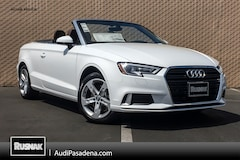 New 2018 Audi A3 2.0T Tech Premium Cabriolet Los Angeles Southern California