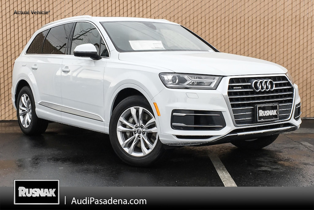 Buy Or Lease New 2019 Audi Q7 Los Angeles Vin