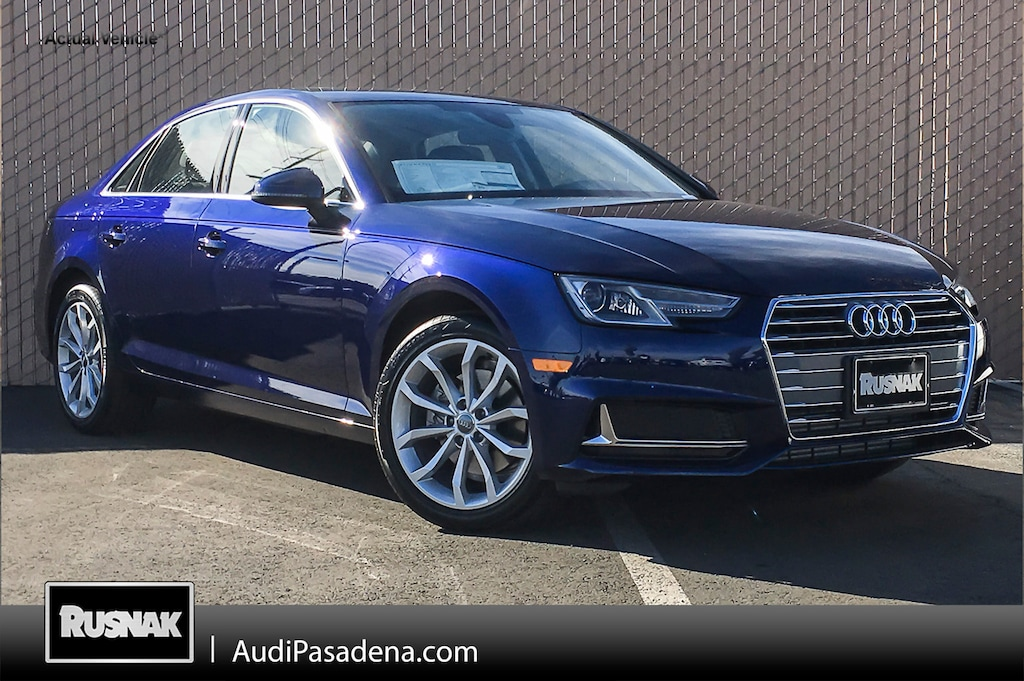 Audi A4 Lease >> Buy Or Lease New 2019 Audi A4 Los Angeles Vin