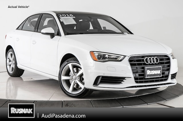 Certified Used 2016 Audi A3 1.8T Premium Sedan Los Angeles Southern California